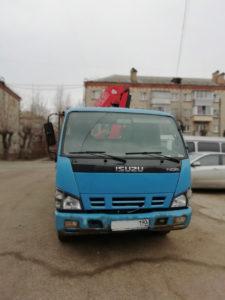 Кран манипулятор в Серпухове и Серпуховском районе